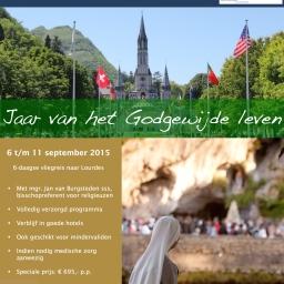 Lourdesbedevaart voor religieuzen