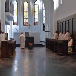 Schakel gebedsketen bij trappisten Echt