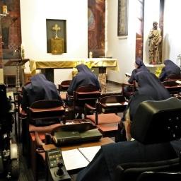 Gebedsketen bij Zusters van het Arme Kind Jezus in Maastricht